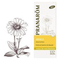 Arnica Montana huile de macération : hématomes