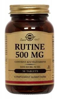Rutine, insuffisance veineuse et hémorroïdes