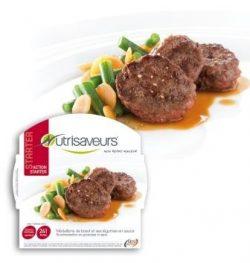 Médaillons de bœuf et ses légumes en sauce
