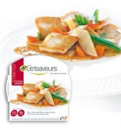 Wok de poulet sauce aigre douce :plat tout prêt
