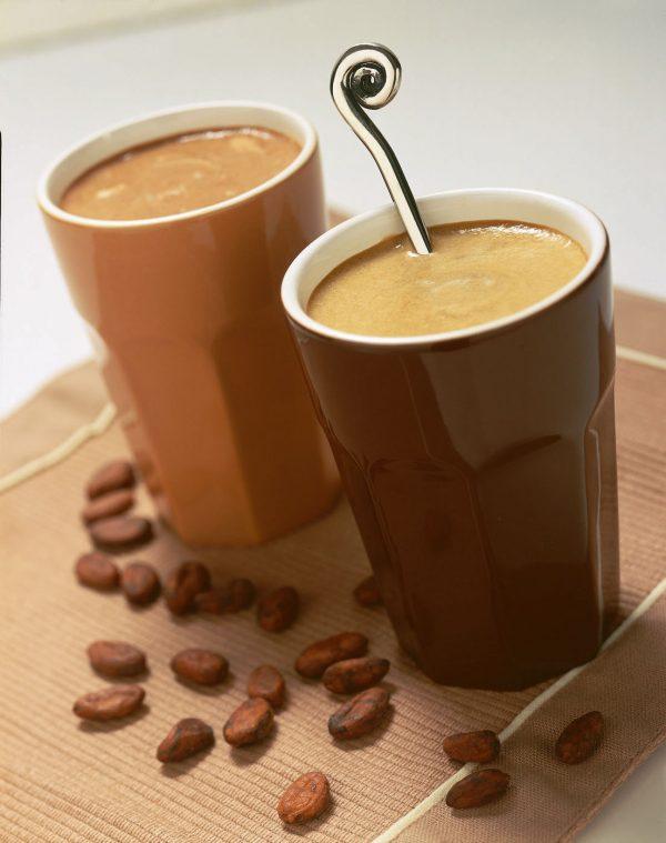 Boisson lacté cappuccino, riche en protéines : saveur d'Italie