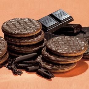 Biscuits au chocolat riche en protéines