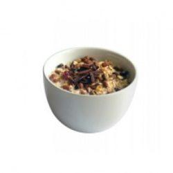 Petit-déjeuner chocolat aux flocons d'avoine