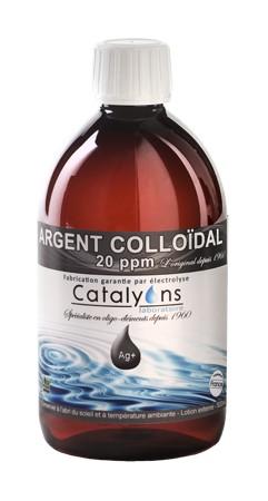 Argent Colloïdal : action antiseptique, cicatrisante, antibactérienne