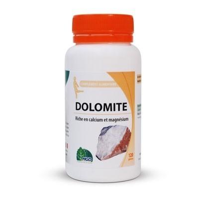 Dolomite : sédiment riche en calcium et magnésium